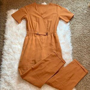 Sienna Sky burnt orange jumpsuit